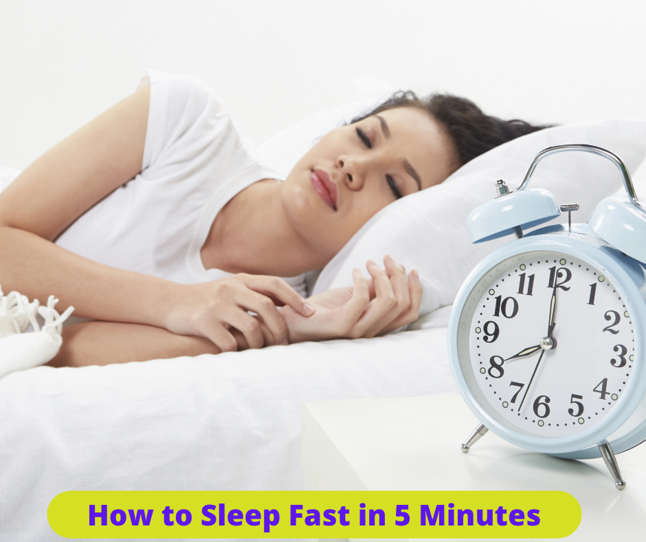 how to sleep fast in 5 minutes
